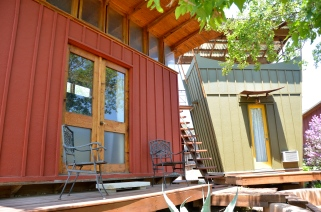 The Romantic Red Room Eco-Cabin (sleeps 2)